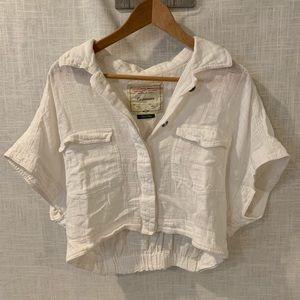 Cartonnier cropped shirt